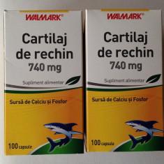 Cartilaj de Rechin, Walmark, 740 mg, 200 capsule, PROMO - Vitamine/Minerale