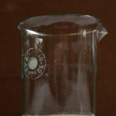 Sticlarie laborator, pahar Berzelius 250ml