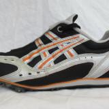 Pantofi alergare / Cuie atletism ASICS originali, marime 42.5 (27.5 cm)