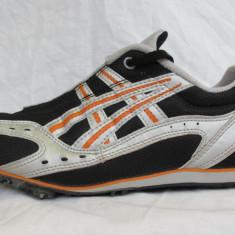 Pantofi alergare / Cuie atletism ASICS originali, marime 42.5 (27.5 cm) - Incaltaminte atletism