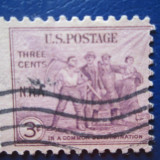TIMBRE AMERICA STAMPILATE
