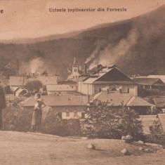 BAIA - MARE, UZINELE TOPITOARELOR DIN FERNEZIU - Carte postala tematica, Necirculata, Printata