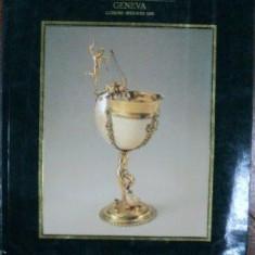 Argintarie Europeana, Catalog Licitatie Sothebys Geneva 1986 - Carte Istoria artei