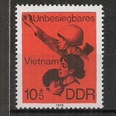 D.D.R.1979 In sprijinul Vietnamului CD.1151 - Timbre straine, Nestampilat