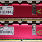Mushkin 4 GB DDr2 2*2GB 1000 Mhz Mushkin Enhanced Redline 4096MB PC2-8000 996593