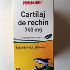 Cartilaj de Rechin, Walmark, 740 mg, 100 capsule - Vitamine/Minerale