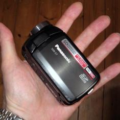 Camera video Panasonic sdr s-7 inregistrare card sd hc, 2-3 inch, Card Memorie, CCD