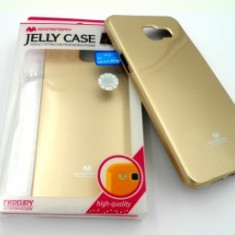Husa Jelly Case Mercury Samsung Galaxy S6 Edge GOLD - Husa Telefon