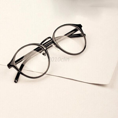Ochelari lentila transparenta protectie gen unisex model retro foto