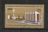 D.D.R.1980 Conferinta interparlamentara Berlin  CD.1179, Nestampilat