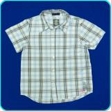 FRUMOASA → Camasa cu maneci scurte, bumbac, H&M → baieti | 6—7 ani | 116—122 cm, Alta, Bleu