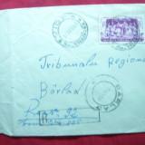 Plic circulat Recomandat de la Vidra la Barlad, cu val.mare 1, 75 lei