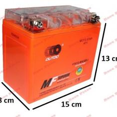 Baterie gel Scuter, Atv 12ah 12v