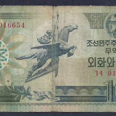 COREEA DE NORD 10 WON 1988 [7] P-29 - bancnota asia