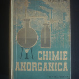 E. BERAL * M. ZAPAN - CHIMIE ANORGANICA - Carte Chimie