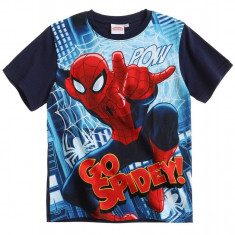 Tricou Spiderman denim