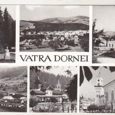 Bnk cp Vatra Dornei - Vedere - circulata - Carte Postala Bucovina dupa 1918, Printata