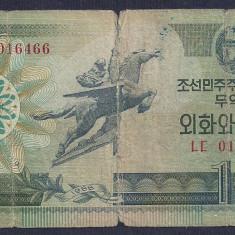 COREEA DE NORD 10 WON 1988 [30] P-29 - bancnota asia