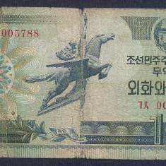 COREEA DE NORD 10 WON 1988 [28] P-29 - bancnota asia