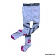 Ciorapi pantalon Barbie alb - Ciorapi Copii