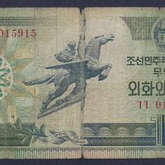 COREEA DE NORD 10 WON 1988 [32] P-29 - bancnota asia