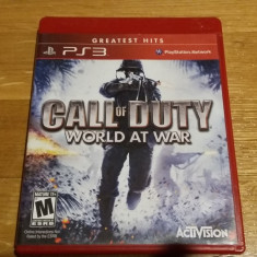 PS3 Call of duty World at war Greatest hits - joc original by WADDER - Jocuri PS3 Activision, Shooting, 18+, Multiplayer