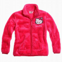 Jacheta polar Hello Kitty roz