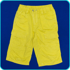 Pantaloni scurti, bumbac 100%, calitate C&A _ baieti | 6 - 7 ani | 116 - 122 cm, Marime: Alta, Culoare: Galben