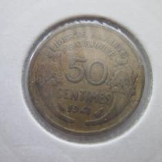 Franta   50 centimes   1941