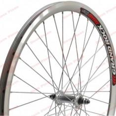Roata bicicleta 26 inch fata (janta dubla) - Piesa bicicleta