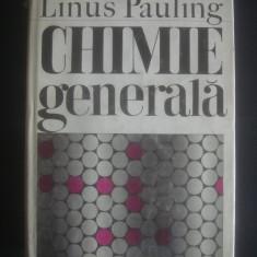 LINUS PAULING - CHIMIE GENERALA - Carte Chimie