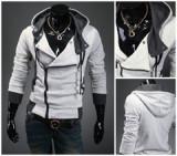 Hanorac Assassin's Creed III Hoodie marime s m l xl xxl original reducere, Alb, Albastru, Negru, Rosu