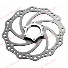 Disc frana bicicleta roata fata (160 mm) - Piesa bicicleta