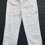 Pantaloni Adidas; marime 42 (16 UK): 81-99 cm talie elastica, 102.5 cm lungime