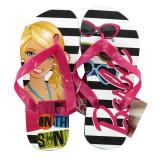 Papuci de plaja Barbie - Papuci copii
