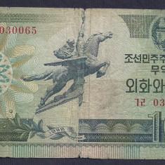 COREEA DE NORD 10 WON 1988 [27] P-29 - bancnota asia