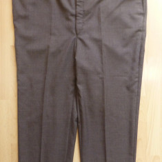 Pantaloni gala; marime 61: 125 cm talie, 100 cm lungime, 65 cm crac etc.; ca noi - Pantaloni XXXL, Culoare: Din imagine