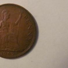 CY - Penny 1967 Marea Britanie Anglia