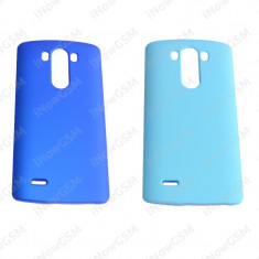 Capac husa protectie spate telefon LG G3 D850 D855 - Husa Telefon LG, Negru, Plastic