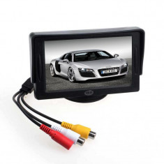 Monitor auto masina lcd 4.3 inch pentru camera video marsarier dvd gps