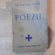 POEZII de OCTAVIAN GOGA, CONTINE DEDICATIA LUI VETURIA O. GOGA 1941