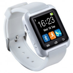 Smart watch ceas inteligent bluetooth u80 iphone ios samsung android, Alte materiale, Tizen Wear