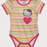 Body cu maneca scurta Hello Kitty multicolor