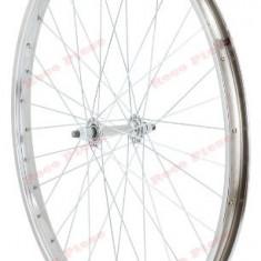 Roata bicicleta 26 inch fata (janta simpla) - Piesa bicicleta