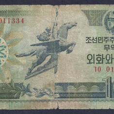 COREEA DE NORD 10 WON 1988 [31] P-29 - bancnota asia