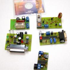 Circuite electronice educationale 5 tipuri : IR learner senzor prezenta biocamp etc(443)
