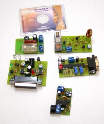 Circuite electronice educationale 5 tipuri : IR learner senzor prezenta biocamp etc(443) foto