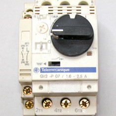 Motor starter tripolar cu protectie Telemecanique GV2 P07 1.6-2.5 A(628)