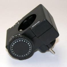 Priza cu temporizare electromecanica Suevia 240(829) - Priza si intrerupator