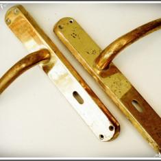PERECHE - CLANȚE CU SILDURI CONFECȚIONATE DIN ALAMĂ, MADE IN ITALY, 800 GRAME! - Metal/Fonta, Scule si unelte
